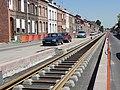 Travaux de la branche vers Vieux-Condé de la ligne B du tramway de Valenciennes en mai 2012 (119).JPG