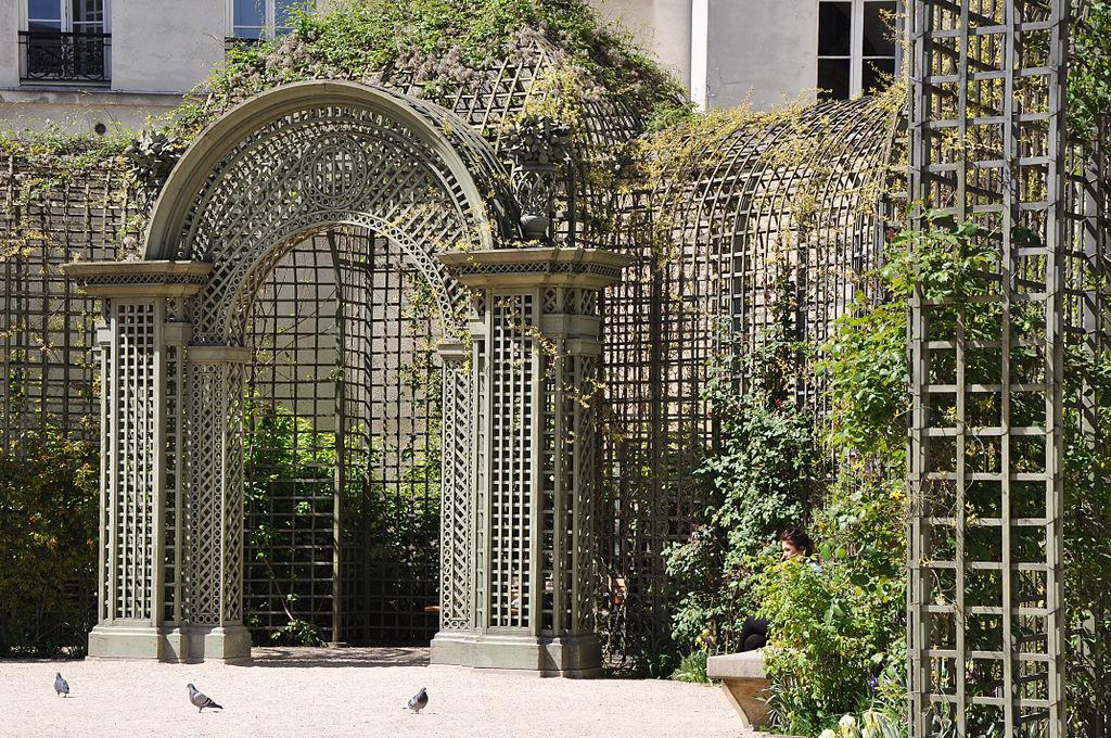 File treillage du jardin anne wikimedia commons for Histoire des jardins wikipedia