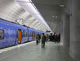 Triangeln station - Image: Triangelns station 1