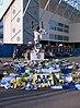 Tributes to Gary Speed at Elland Road stadium (geograph 2719291).jpg
