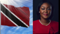 Trinidad and Tobago flag and Tracy Davidson-Celestine portrait.png