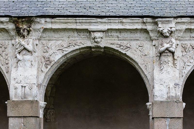file troisi me arcade de la galerie ouest du clo tre de l 39 ancienne abbaye saint melaine rennes. Black Bedroom Furniture Sets. Home Design Ideas
