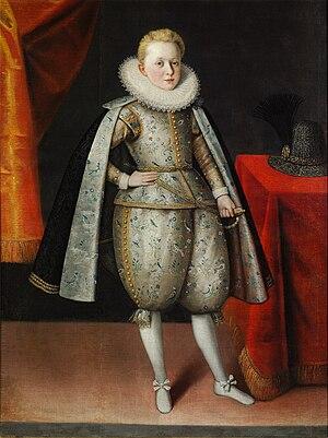 Urszula Meyerin - Prince Władysław Sigismund Vasa, c.1605.