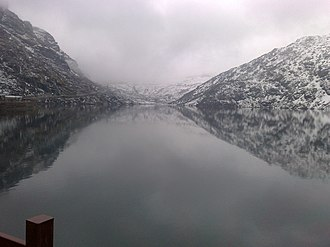 Lake Tsomgo - Image: Tsomgo Lake
