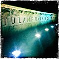 Tulane Sign at night (5042357191).jpg