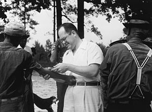 Unethical human experimentation in the United States - A subject of the Tuskegee syphilis experiment has his blood drawn, c. 1953