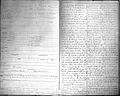 Two pages from Bethlem case concerning Daniel McNaughton. Wellcome L0000537.jpg
