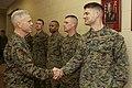 U.S. Marine Corps Gen. James F. Amos, left, the commandant of the Marine Corps, visits Marines at The Basic School at Marine Corps Base Quantico, Va., March 4, 2013 130304-M-LU710-012.jpg