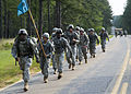 U.S. Soldiers, of 513th Military Intelligence Brigade participate in a force march, during the Warrior Stakes Exercise, at Fort Gordon, Ga., May 18, 2010 100518-A-NF756-003.jpg