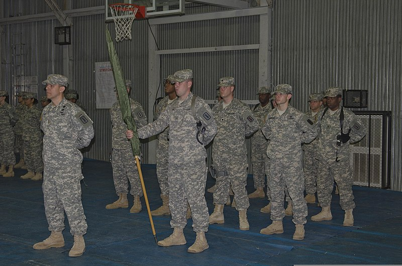 File:U S  Soldiers with Task Force Medical 17 take command
