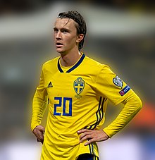 UEFA EURO qualifiers Sweden vs Spain 20191015 Kristoffer Olsson 72.jpg