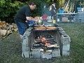 UIATF Pow Wow 2009 - grilling salmon 02.jpg
