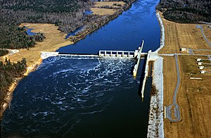 Alabama River - Image: USACE Claiborne Lock and Dam