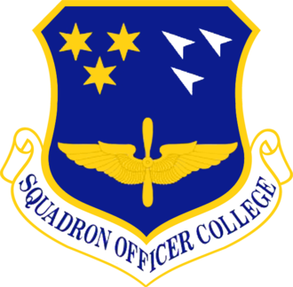 Air University (United States Air Force) - Squadron Officer College emblem