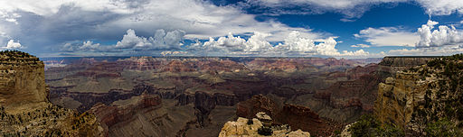 USA - Arizona - Grand Canyon - South Rim - Hermits Rest Route - Panoramic View