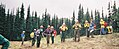 USFS Restoration Crew after Icicle Complex Fires 2001 6.jpg