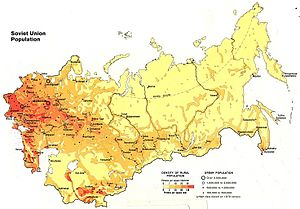 Demographics of the Soviet Union