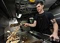 USS Abraham Lincoln sailor preps lunch 120629-N-KQ416-011.jpg