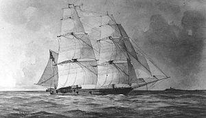 Brazil Squadron - Image: USS Bainbridge (1842)