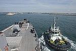 USS Donald Cook pulls into Rota, Spain. (26444075000).jpg