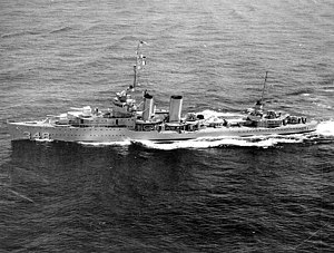 Farragut-class destroyer (1934) - Image: USS Farragut (DD 348) underway at sea on 14 September 1936