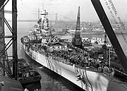 USS North Carolina Fit out NARA 1941-04-17