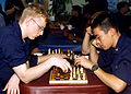 US Navy 020814-N-6404B-004 Sailors enjoy a game of chess.jpg