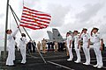 US Navy 020911-N-1058W-004 Sailors aboard USS Harry S. Truman (CVN 75) raise the.jpg