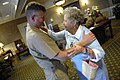 US Navy 090928-N-9818V-004 Master Chief Petty Officer of the Navy (MCPON) Rick West meets with Ima Black.jpg