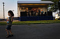 US Navy 100507-N-6046S-077 A child dances and enjoys music from the Memphis-based band, The Distraxshuns, at a free Morale Warfare and Recreation sponsored concert at Naval Support Activity Mid-South.jpg