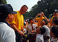 US Navy 110531-N-KK935-007 Capt. Dave Welch alks to students while at a community service project at SDN-1 Elementary School during Cooperation Afl.jpg