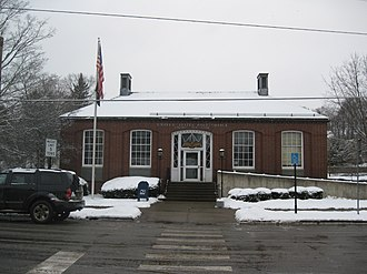 Oxford, New York - U.S. Post Office, Oxford