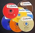 Ubuntu 8.04 CD's.JPG