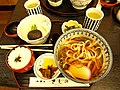 Udon lunch set by javic in Nikko, Tochigi.jpg