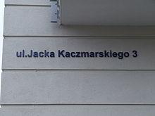 Ulica Jacka Kaczmarskiego 3, Gdynia - 001.JPG