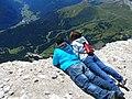Un balcone speciale su Canazei - panoramio.jpg