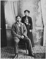 Unidentified young Indian couple. - NARA - 297586.tif