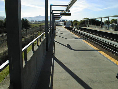 How to get to Union City BART Station with public transit - About the place