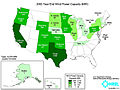 United States installed wind power capacity by state 2003.jpg