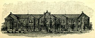 University of Tokyo - Faculty of Law building in 1902, before its destruction by the 1923 Great Kantō earthquake