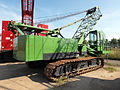 Unknown green tracked crane pic2.JPG