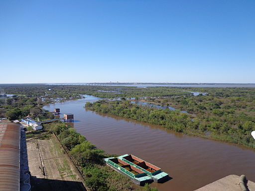 Upper part of Barranqueras River