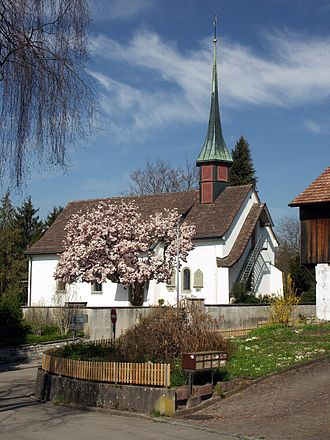 Urdorf - Protestant church Urdorf