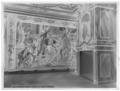 Vävd tapet med motiv ur alexanderhistorien. Intåg i Babylon. Kartong av Charles Le Brun - Skoklosters slott - 68759-negative.tif