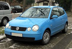 Volkswagen Polo IV hatchback 3d przed liftingiem
