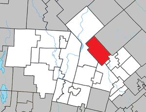 Val-des-Lacs, Quebec - Image: Val des Lacs Quebec location diagram