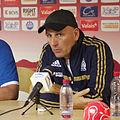Valais Cup 2013 - OM-FC Porto 13-07-2013 - Elie Baup à la conférence de presse.jpg