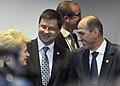 Valdis Dombrovskis piedalās Eiropadomes sanāksmē (7257623778).jpg