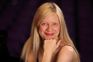 English: Valentina Lisitsa during an interview...
