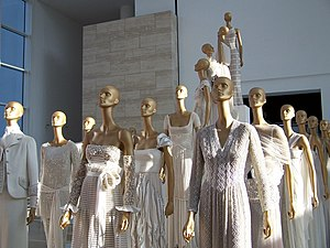 Valentino SpA - White Valentino dresses in celebration of Valentino's 45 years in fashion